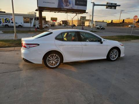 2020 Toyota Camry for sale at GOOD NEWS AUTO SALES in Fargo ND