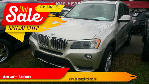 2011 BMW X3 for sale at Ace Auto Brokers in Charlotte NC