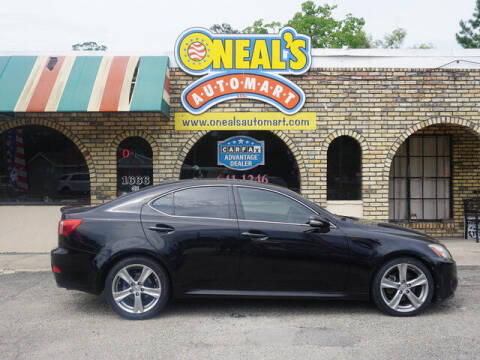 2011 Lexus IS 250 for sale at Oneal's Automart LLC in Slidell LA