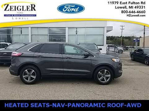 2020 Ford Edge for sale at Zeigler Ford of Plainwell- Jeff Bishop in Plainwell MI