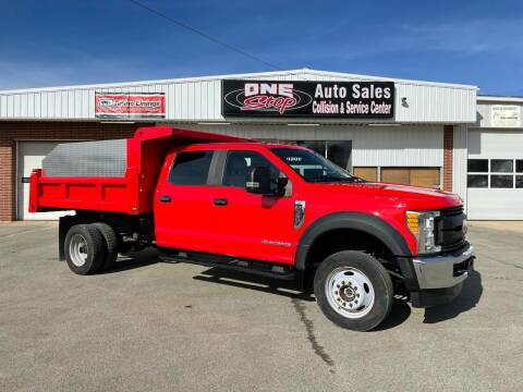 2017 Ford F-550 Super Duty for sale at One Stop Auto Sales, Collision & Service Center in Somerset PA