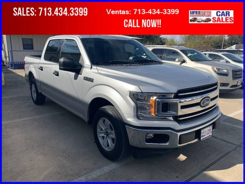 2018 Ford F-150 for sale at HOUSTON CAR SALES INC in Houston TX