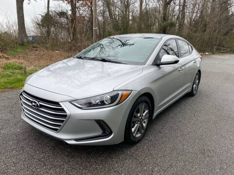 2017 Hyundai Elantra for sale at Speed Auto Mall in Greensboro NC