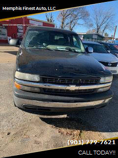 2002 Chevrolet Silverado 1500 for sale at Memphis Finest Auto, LLC in Memphis TN