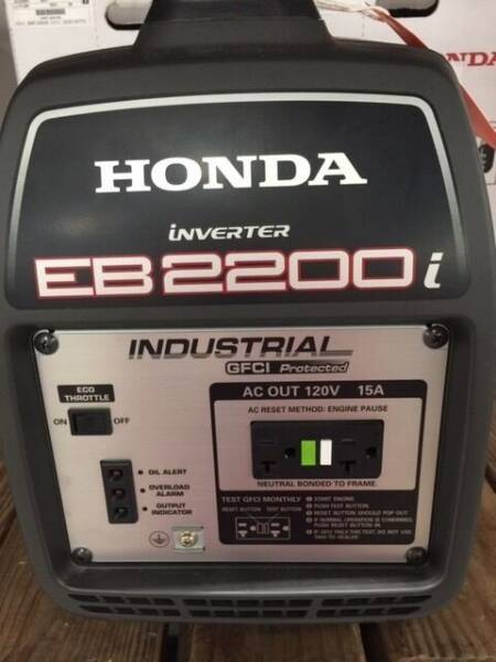 2021 Honda POWER EB2200ITA for sale at Irv Thomas Honda Suzuki Polaris in Corpus Christi TX