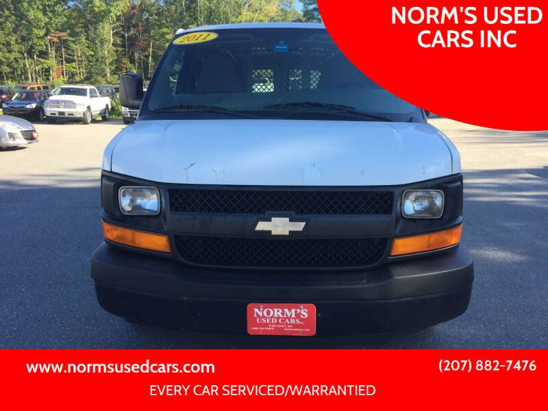 2011 Chevrolet Express Cargo for sale at NORM'S USED CARS INC in Wiscasset ME