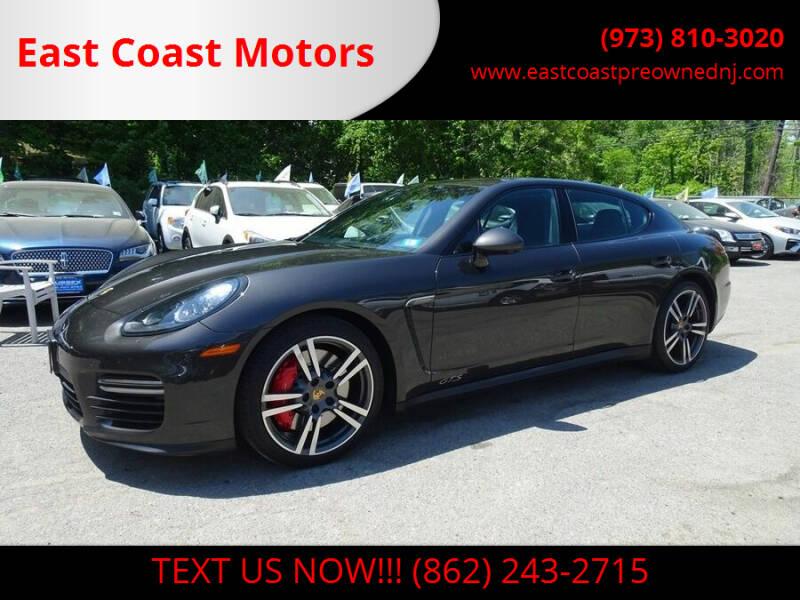 2015 Porsche Panamera for sale at East Coast Motors in Lake Hopatcong NJ
