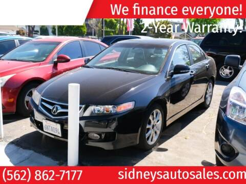 2007 Acura TSX for sale at Sidney Auto Sales in Downey CA