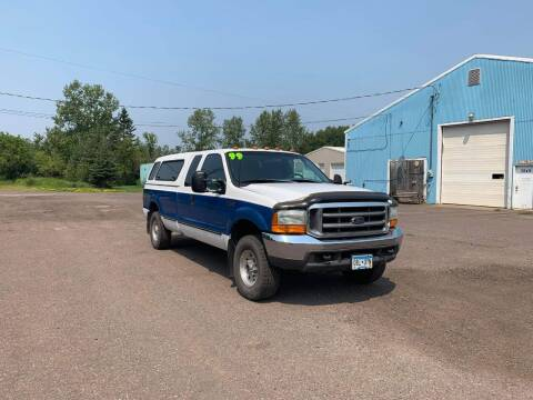 1999 Ford F-250 Super Duty for sale at WB Auto Sales LLC in Barnum MN