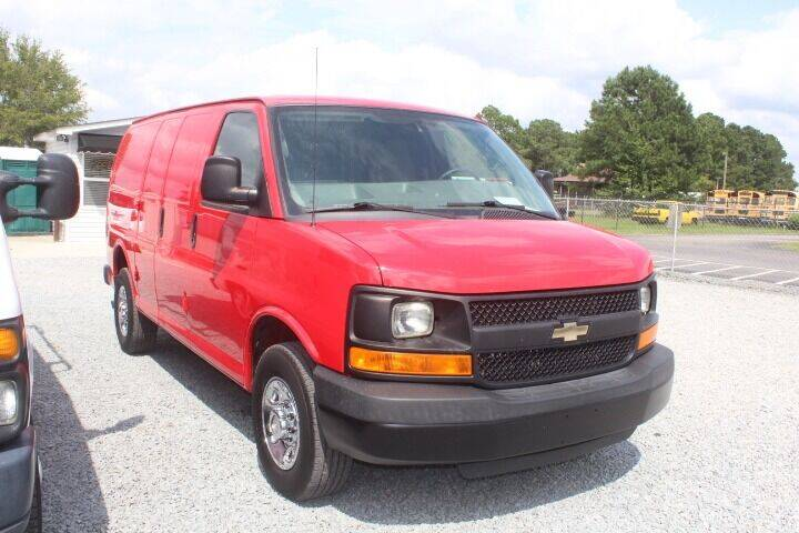 2015 Chevrolet Express Cargo for sale at Auto Connection 210 LLC in Angier NC