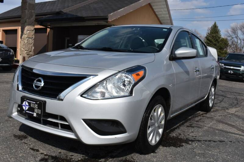 2017 Nissan Versa for sale at Atlas Auto in Grand Forks ND