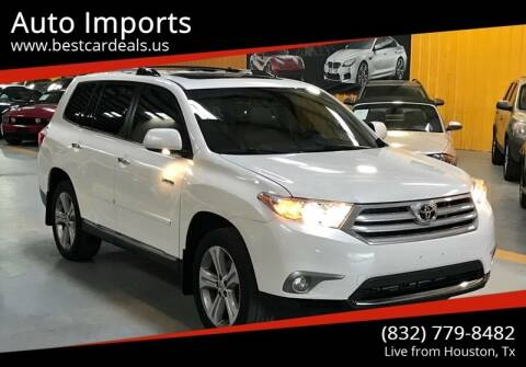 2012 Toyota Highlander for sale at Auto Imports in Houston TX