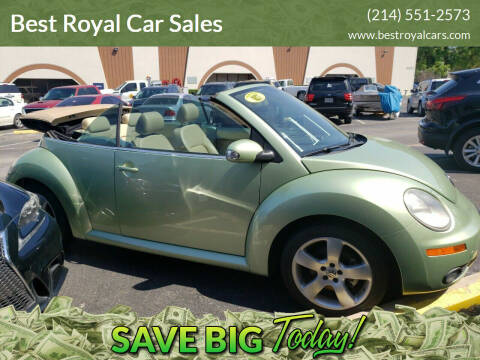 2007 Volkswagen New Beetle for sale at Best Royal Car Sales in Dallas TX
