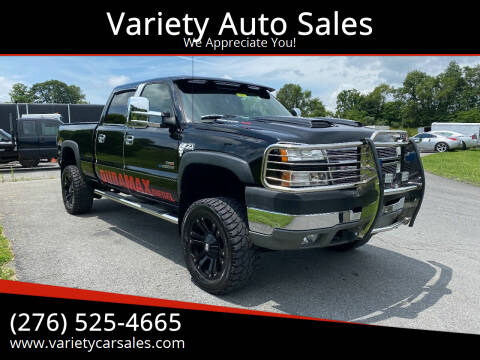 2005 Chevrolet Silverado 2500HD for sale at Variety Auto Sales in Abingdon VA