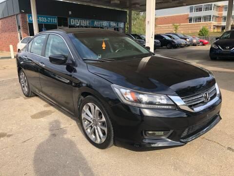 2014 Honda Accord for sale at Divine Auto Sales LLC in Omaha NE