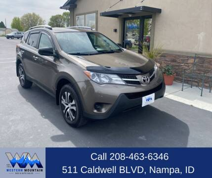2015 Toyota RAV4 for sale at Western Mountain Bus & Auto Sales in Nampa ID