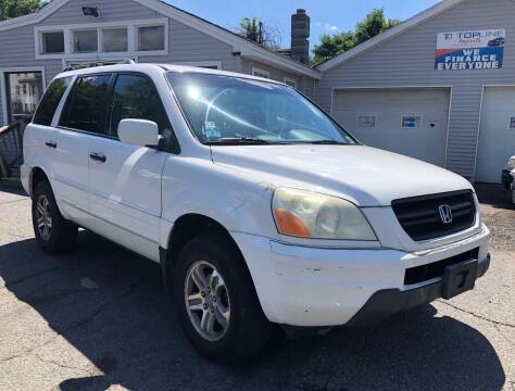 2004 Honda Pilot for sale at Top Line Import in Haverhill MA