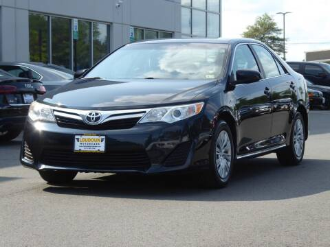 2012 Toyota Camry for sale at Loudoun Motor Cars in Chantilly VA