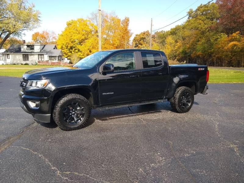2017 Chevrolet Colorado for sale at Depue Auto Sales Inc in Paw Paw MI