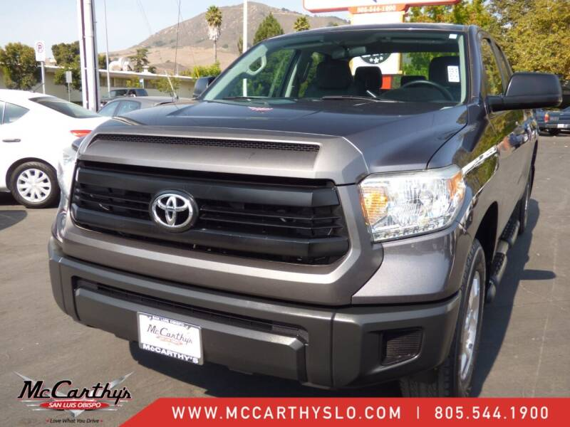 2014 Toyota Tundra for sale at McCarthy Wholesale in San Luis Obispo CA