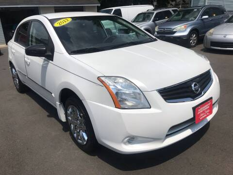2012 Nissan Sentra for sale at Alexander Antkowiak Auto Sales in Hatboro PA
