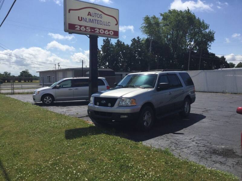 2005 Ford Expedition for sale at Autos Unlimited, LLC in Adrian MI