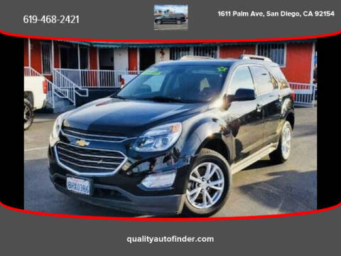 2017 Chevrolet Equinox for sale at QUALITY AUTO FINDER in San Diego CA