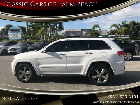 2014 Jeep Grand Cherokee for sale at Classic Cars of Palm Beach in Jupiter FL