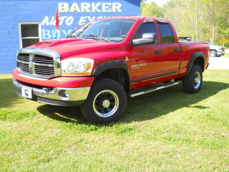 2006 Dodge Ram Pickup 2500 for sale at BARKER AUTO EXCHANGE in Spencer IN