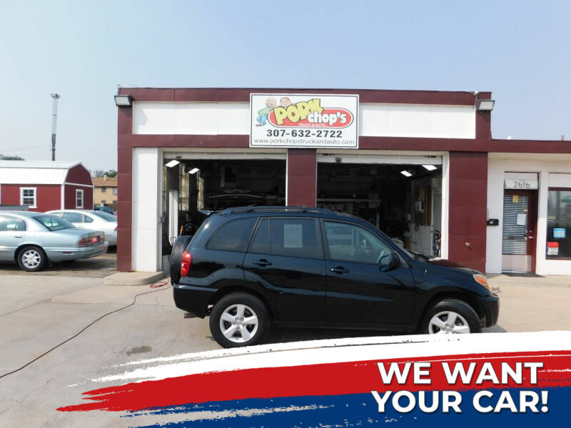 2005 Toyota RAV4 for sale at Pork Chops Truck and Auto in Cheyenne WY