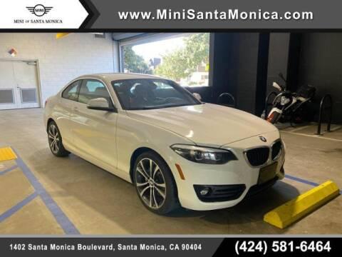 2018 BMW 2 Series for sale at MINI OF SANTA MONICA in Santa Monica CA