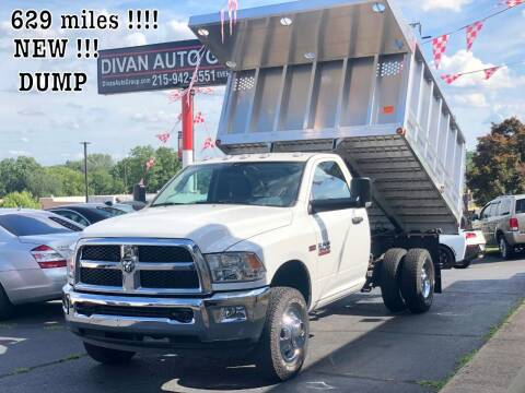 2018 RAM Ram Chassis 3500 for sale at Divan Auto Group in Feasterville PA