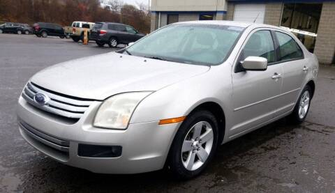 2007 Ford Fusion for sale at Angelo's Auto Sales in Lowellville OH