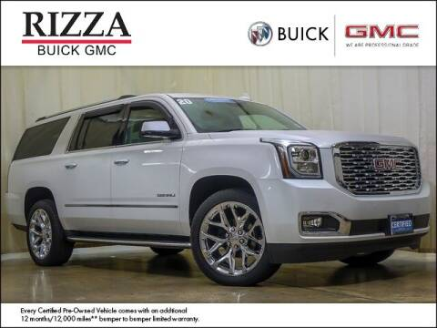 2020 GMC Yukon XL for sale at Rizza Buick GMC Cadillac in Tinley Park IL