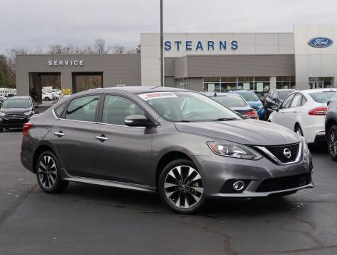 2019 Nissan Sentra for sale at Stearns Ford in Burlington NC