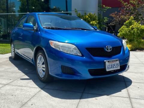 2010 Toyota Corolla for sale at Top Motors in San Jose CA