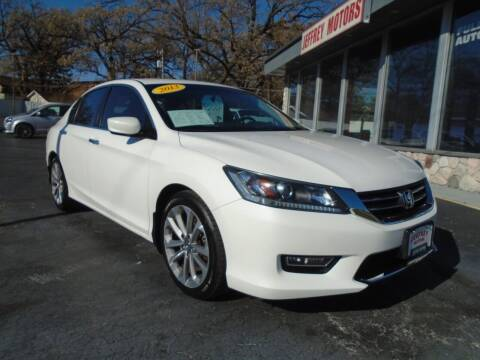 2013 Honda Accord for sale at Jeffrey Motors in Kenosha WI