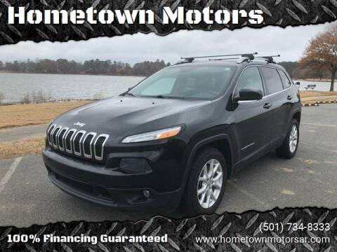 2014 Jeep Cherokee for sale at Hometown Motors in Maumelle AR