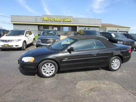 2004 Chrysler Sebring for sale at MIRA AUTO SALES in Cincinnati OH