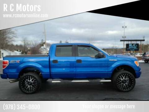 2014 Ford F-150 for sale at R C Motors in Lunenburg MA