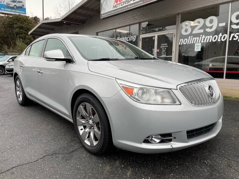 2012 Buick LaCrosse for sale at NO LIMIT MOTORSPORTS in Belmont NC