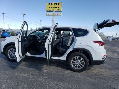 2019 Hyundai Santa Fe for sale at ELITE MOTORS in Victorville CA