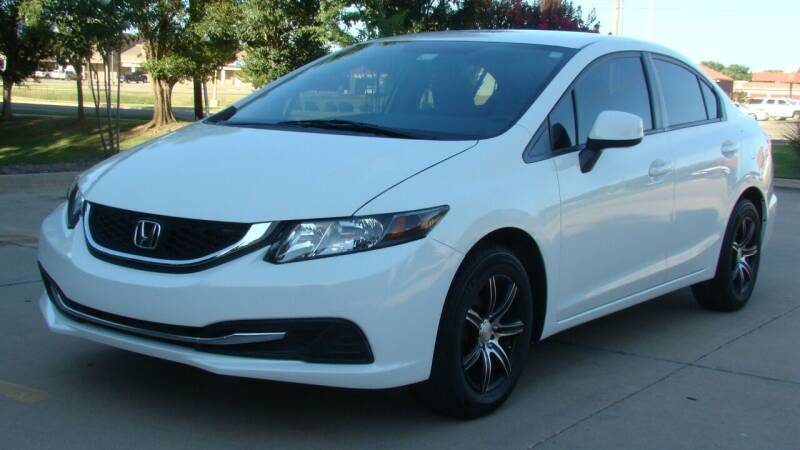2013 Honda Civic for sale at Red Rock Auto LLC in Oklahoma City OK