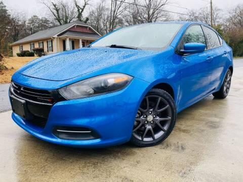 2015 Dodge Dart for sale at E-Z Auto Finance in Marietta GA
