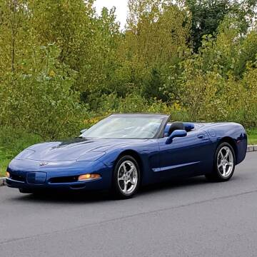 2002 Chevrolet Corvette for sale at R & R AUTO SALES in Poughkeepsie NY