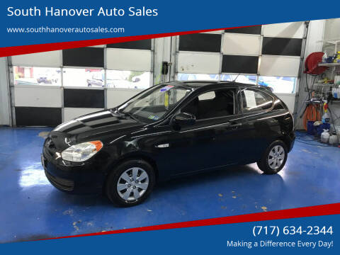 2010 Hyundai Accent for sale at South Hanover Auto Sales in Hanover PA