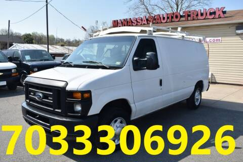 2013 Ford E-Series Cargo for sale at MANASSAS AUTO TRUCK in Manassas VA