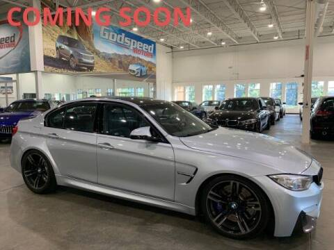 2016 BMW M3 for sale at Godspeed Motors in Charlotte NC