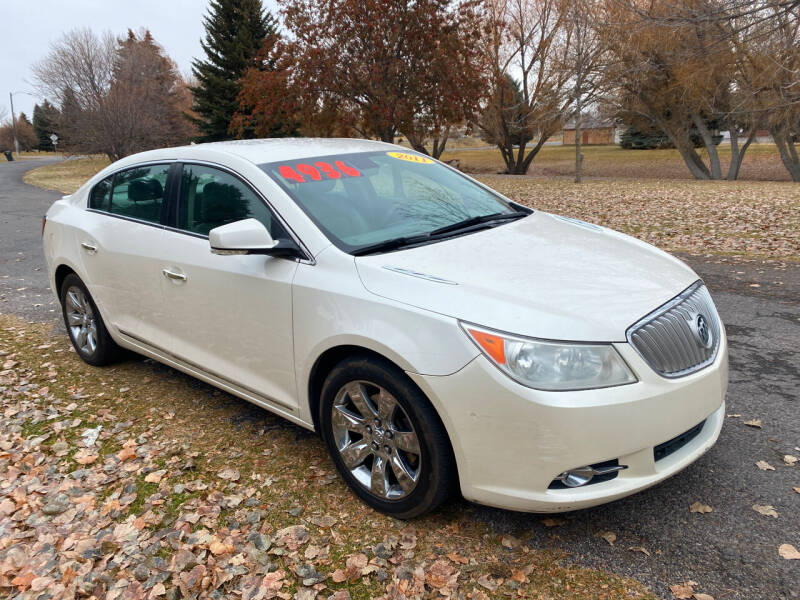 2011 Buick LaCrosse for sale at BELOW BOOK AUTO SALES in Idaho Falls ID