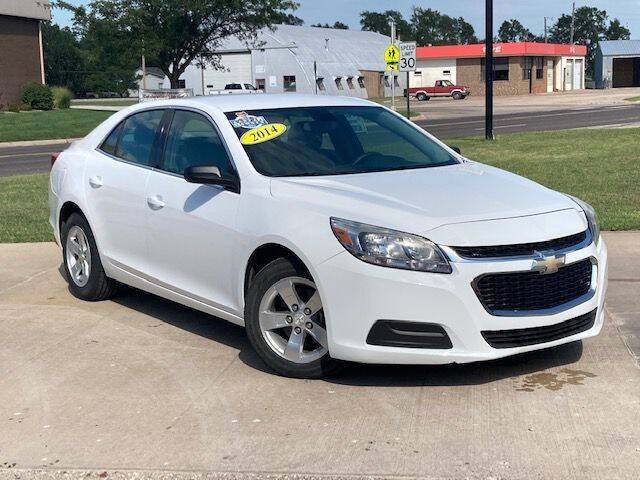 2014 Chevrolet Malibu for sale at Rolling Wheels LLC in Hesston KS